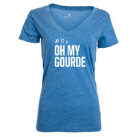 Tampa Bay Lightning Women's Oh My Gourde Social Media Inspired Tee