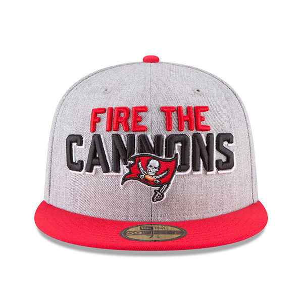 c8366b430e39e8 ... clearance mens tampa bay buccaneers new era 2018 nfl draft official on  stage 59fifty fitted hat