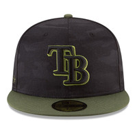 Men's Tampa Bay Rays New Era 2018 Memorial Day On-Field 59FIFTY