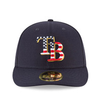 Men's Tampa Bay Rays New Era 2018 Stars & Stripes 4th of July On-Field Low Profile 59FIFTY Hat
