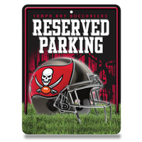 Tampa Bay Buccaneers Reserved Metal Sign