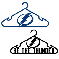 "Tampa Bay Lightning ""Be The Thunder"" Hanger 2-Pack"