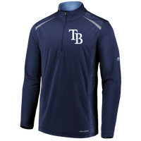 Men's Tampa Bay Rays Majestic Practice Makes Perfect 1/4 Zip