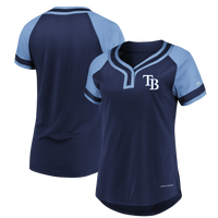Women's Tampa Bay Rays Majestic League Diva Tee
