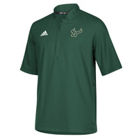 Men's USF Bulls Adidas Official Sideline Iconic 1/4 Zip