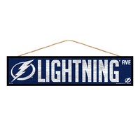 Tampa Bay Lightning Wincraft Wood Street Sign