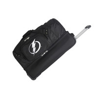 "Tampa Bay Lightning 27"" Drop Bottom Wheeled Duffle"