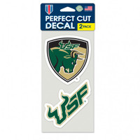 USF Bulls Perfect Cut Decal Combo Pack 4x4""