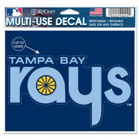 Tampa Bay Rays WinCraft Multi-Use Decal 5x6""
