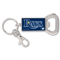 Tampa Bay Rays WinCraft Bottle Opener Rectangle Key Ring