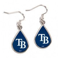 Tampa Bay Rays WinCraft Tear Drop Earrings