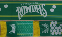 Tampa Bay Rowdies Hexagon Scarf