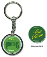 Tampa Bay Rowdies Spinner Keychain