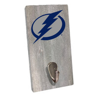 Tampa Bay Lightning Rustic Marlin Grey Wash Sign