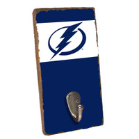 Tampa Bay Lightning Rustic Marlin Team Color Wall Stripe Hook