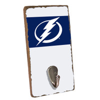 Tampa Bay Lightning Rustic Marlin Team Stripe Sign