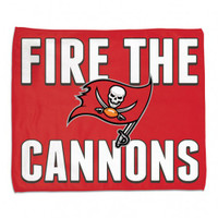 Tampa Bay Buccaneers WinCraft Fire The Cannons Rally Towel
