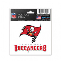 "Tampa Bay Buccaneers 3x4"" Multi-Use Decal"