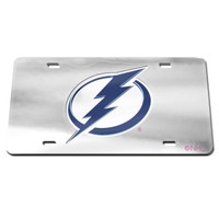 Tampa Bay Lightning WinCraft Frost License Plate