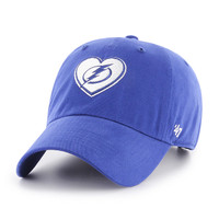 Women's Tampa Bay Lightning '47 Brand Courtney Clean Up Hat
