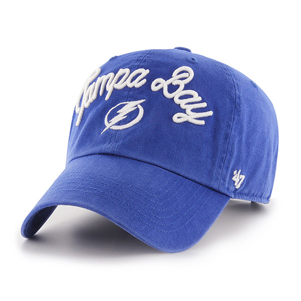 ... Women s Tampa Bay Lightning  47 Brand Melody Clean Up Hat. Image 1 5cd02d0a08