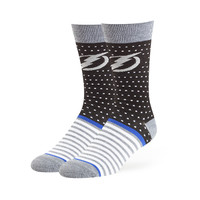 Tampa Bay Lightning '47 Willard Flat Knit Sock (Black)