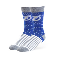 Tampa Bay Lightning '47 Willard Flat Knit Sock (Royal)
