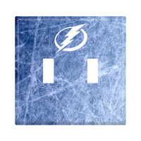 Tampa Bay Lightning Double Wall Plate Light Switch Cover