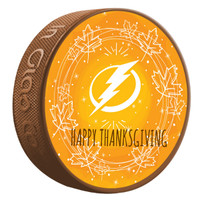 Tampa Bay Lightning Limited Edition Thanksgiving Puck