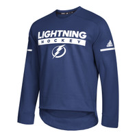 Men's Tampa Bay Lightning adidas Crew Squad Pull Over