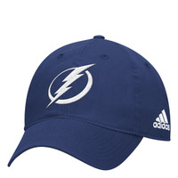 Men's Tampa Bay Lightning adidas Primary Logo Adjustable Slouch