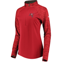 Women's Tampa Bay Buccaneers Ultra Streak 1/4 Zip