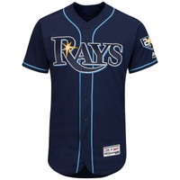 Men's Tampa Bay Rays Majestic Alternate Cool Base Jersey