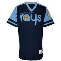 Men's Tampa Bay Rays Majestic Turn Back The Clock Cool Base Jersey