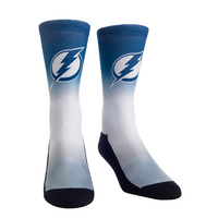 Tampa Bay Lightning Dip Dye Socks