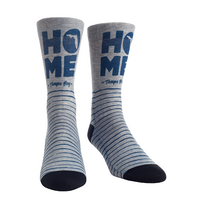 Tampa Bay Lightning Heather Home Socks