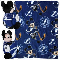 Tampa Bay Lightning Mickey Hugger and Blanket