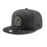Tampa Bay Lightning New Era Third Jersey Circle Patch 9FIFTY Snapback Hat