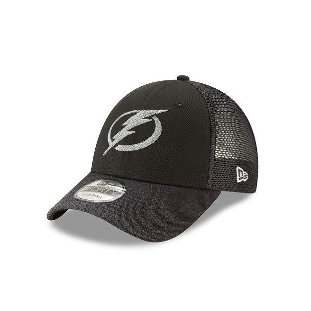 Men s Tampa Bay Lightning New Era Third Jersey Trucker Adjustable ... d46ef85104f