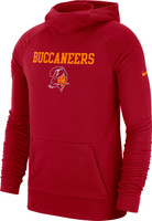 Men's Tampa Bay Buccaneers Nike Stadium Collection Historical Hoodie
