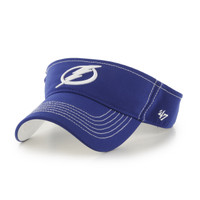 Men's Tampa Bay Lightning '47 Brand Blue Defiance Visor