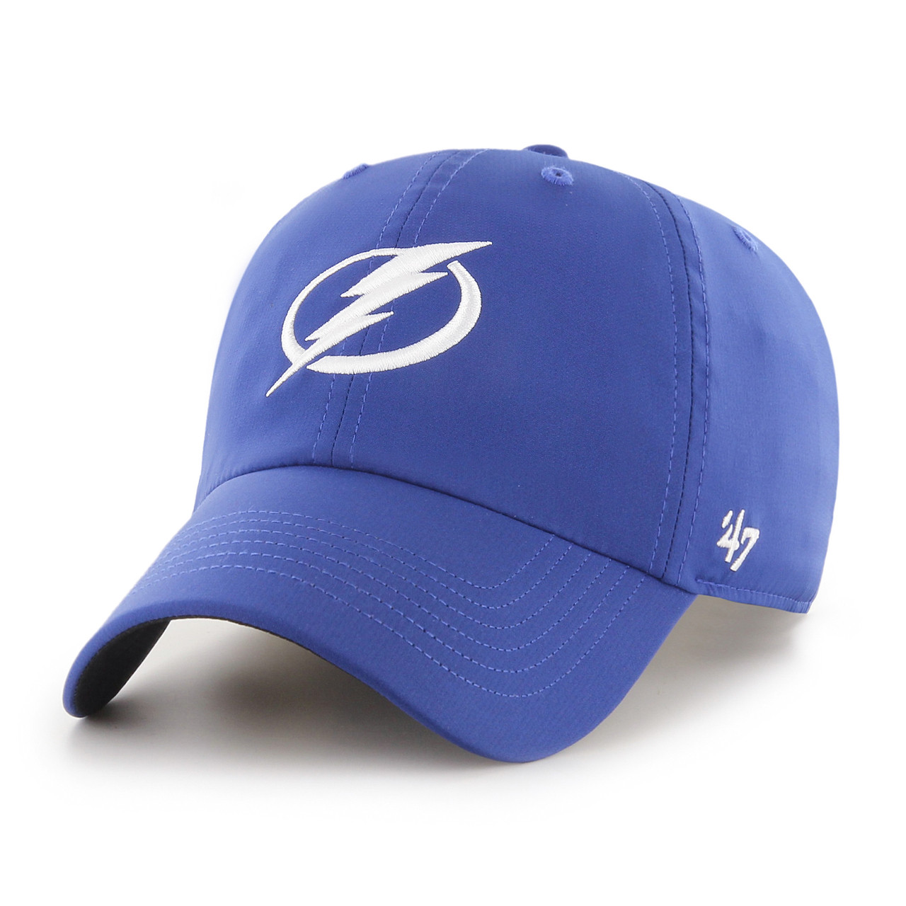 Men s Tampa Bay Lightning  47 Brand Repetition Royal Clean Up Hat ... aeb4d8c6d7ce