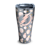 Tampa Bay Lightning 30oz Stainless Rose Gold Dots Tervis