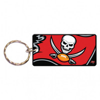 Tampa Bay Buccaneers Over-sized Rectangle Key Chain