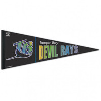Tampa Bay Rays Throwback Premium Pennant