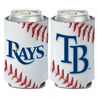 Tampa Bay Rays 12oz Baseball Can Koozie