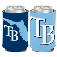 Tampa Bay Rays 12oz State Can Koozie