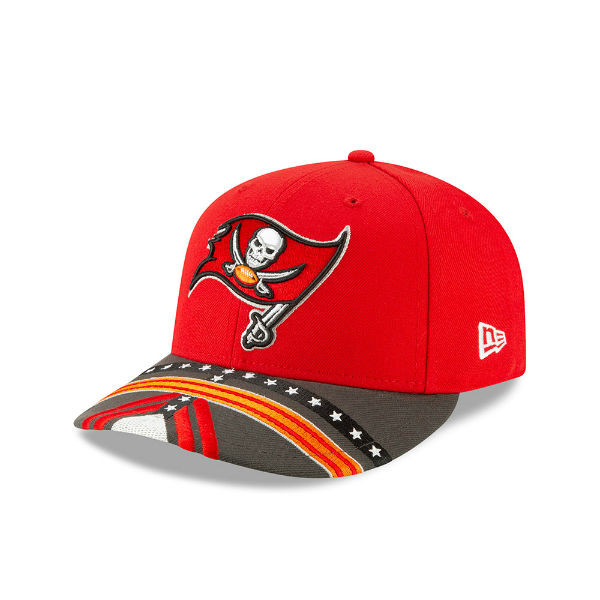 886b19801e0 Men s Tampa Bay Buccaneers New Era 2019 NFL Draft On Stage Official 59Fifty  Hat - Tampa Bay Sports