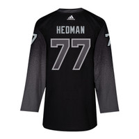 #77 VICTOR HEDMAN adidas ADIZERO Lightning Third Jersey with Authentic Lettering