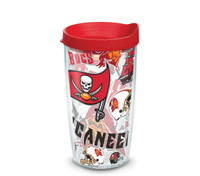 Tampa Bay Buccaneers 16oz All Over Tervis Tumbler